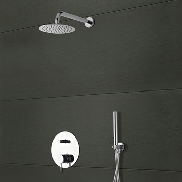 Concealed shower systems